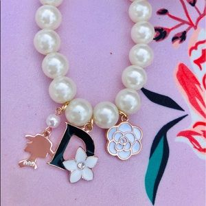 Jewelry - Pearl Charm Bracelet